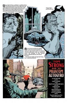 Extrait de Tom Strong (1999) -10- Tom Strong and His Phantom Autogyro