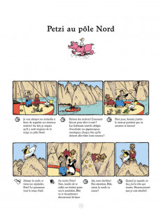 Extrait de Petzi (Place du Sablon) -5- Petzi au pôle Nord