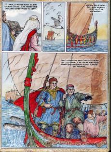Extrait de Les riches heures d'Arnauld de Bichancourt -4- Northumbrie