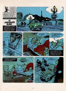 Extrait de Bob Marone -1- Le dinosaure blanc -