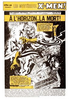 Extrait de X-Men (Éditions Héritage) -7- A l'horizon, la mort !
