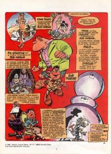 Extrait de Bob Marone -2- Le dinosaure blanc  -