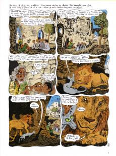 Extrait de Le chat du Rabbin -4a2007- Le Paradis Terrestre