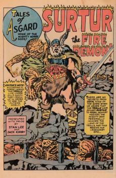 Extrait de Tales of Asgard (1968) -1- Tales of Asgard #1