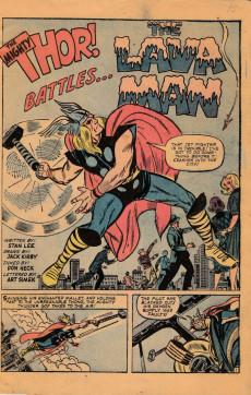 Extrait de Journey into Mystery Vol. 1 (Marvel - 1952) -97- The Lava Man