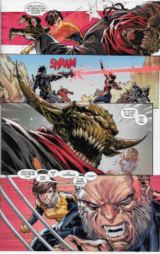 Extrait de Marvel Legacy - X-Men (Marvel France - 2018) -3- Casse temporel
