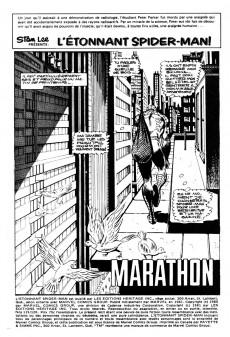 Extrait de L'Étonnant Spider-Man (Éditions Héritage) -119120- Marathon
