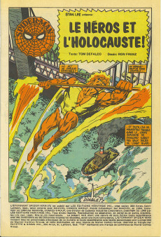 Extrait de L'Étonnant Spider-Man (Éditions Héritage) -175- Le héros et l'holocauste !