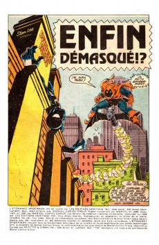 Extrait de L'Étonnant Spider-Man (Éditions Héritage) -181- Enfin démasqué !?