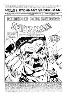 Extrait de L'Étonnant Spider-Man (Éditions Héritage) -9394- Recherché pour meurtre : Spider-Man !