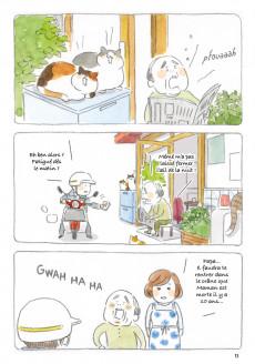 Extrait de Le vieil homme et son chat -1- Le vieil homme et son chat n'ont plus peur des chiens