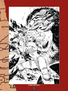 Extrait de Red Sonja (The Art of) -1- The Art of Red Sonja Vol. 1
