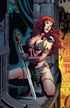 Extrait de Red Sonja (The Art of) -2- The Art of Red Sonja vol. 2