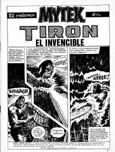 Extrait de Mytek el poderoso (Surco - 1983) -1- Tiron el invencible