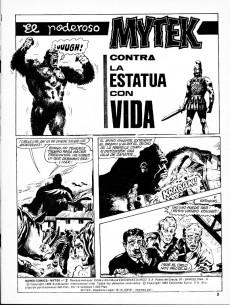 Extrait de Mytek el poderoso (Surco - 1983) -3- Contra la estatua con vida