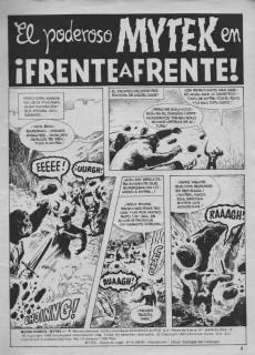 Extrait de Mytek el poderoso (Surco - 1983) -4- ¡Frente a frente!