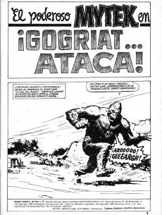 Extrait de Mytek el poderoso (Surco - 1983) -5- ¡Gogriat... ataca!