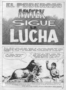 Extrait de Mytek el poderoso (Surco - 1983) -6- Sigue la lucha