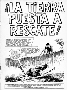 Extrait de Mytek el poderoso (Surco - 1983) -7- ¡La Tierra puesta a rescate!