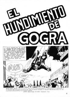 Extrait de Mytek el poderoso (Surco - 1983) -8- El hundimiento de Gogra