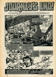 Extrait de Unknown Worlds of Science Fiction (1975) -HS1- Giant size special issue