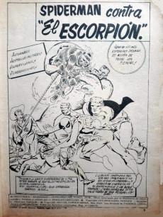 Extrait de Antología del cómic (Vértice - 1977) -9- El hombre araña