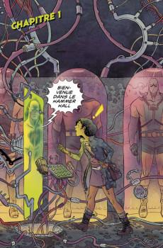 Extrait de Black Hammer -HS1- Sherlock Frankenstein & la Ligue du Mal