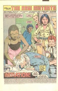 Extrait de New Mutants (The) (1983) -1- Initiation!
