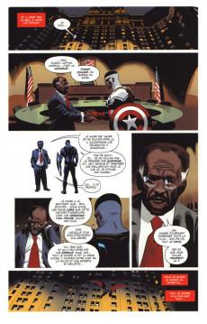 Extrait de Captain America : Sam Wilson -3- Qui mérite le bouclier ?