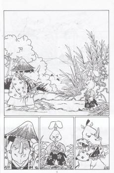 Extrait de Usagi Yojimbo (The Art of) (1997) -2- The Art of Usagi Yojimbo #2