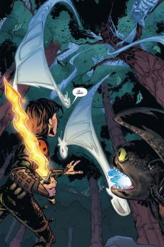 Extrait de Dragons (DreamWorks) - La Menace verte