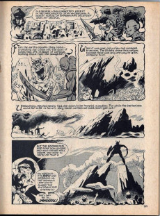 Extrait de Creepy (1964) -27- The Barbarian Of Fear