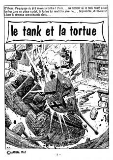 Extrait de Commando (2e série - Artima) -34- Le tank et la tortue