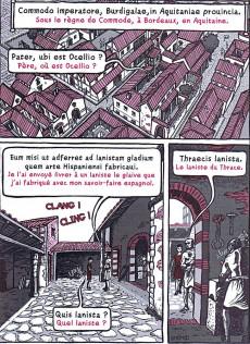 Extrait de La marmite-o-langues - Le glaive de burdigala