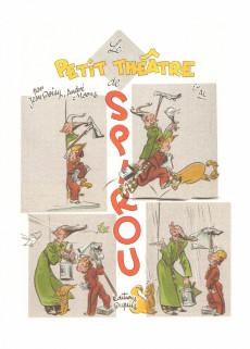 Extrait de Spirou et Fantasio par... (Une aventure de) / Le Spirou de... -HS4- Le petit théâtre de Spirou