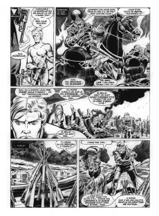 Extrait de La planète des singes (Panini Comics) -1- Terreur sur la planète des singes