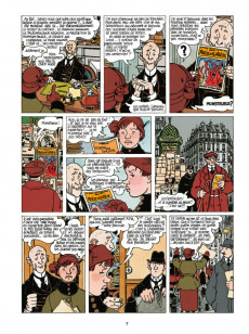 Extrait de Adèle Blanc-Sec (Les Aventures Extraordinaires d') -7c18- Tous des monstres !