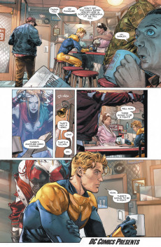 Extrait de Heroes in Crisis (2018) -1- I'm Just Warming Up