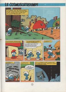 Extrait de Les schtroumpfs -6a70- Le Cosmoschtroumpf