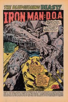 Extrait de Amazing Adventures (1970) -12UK- Iron Man: D.O.A.