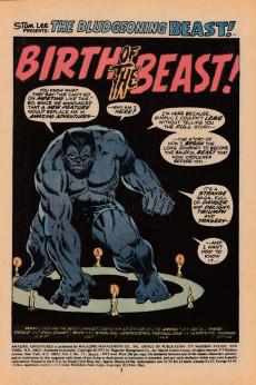 Extrait de Amazing Adventures (1970) -17UK- Birth of the Beast!