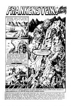 Extrait de Le monstre de Frankenstein (Éditions Héritage) -1- Frankenstein!