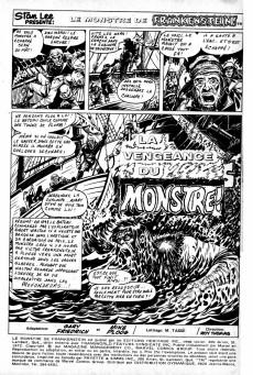 Extrait de Le monstre de Frankenstein (Éditions Héritage) -3- La vengeance du monstre!