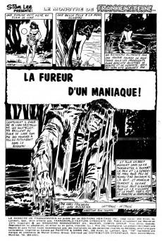 Extrait de Le monstre de Frankenstein (Éditions Héritage) -7- La fureur d'un maniaque!