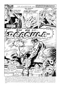 Extrait de Le monstre de Frankenstein (Éditions Héritage) -8- Mon nom est... Dracula