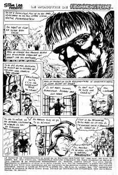 Extrait de Le monstre de Frankenstein (Éditions Héritage) -6- La recherche du dernier Frankenstein!