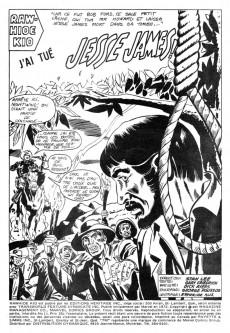 Extrait de Rawhide Kid (Éditions Héritage) -11- J'ai tué Jesse James!