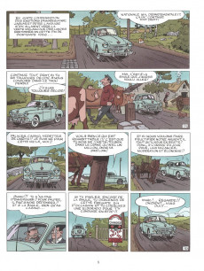 Extrait de Marc Jaguar -2- Les camions du diable