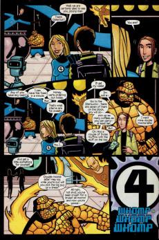 Extrait de Ultimate Marvel Team-up (2001) -9- Spider-Man & Fantastic Four