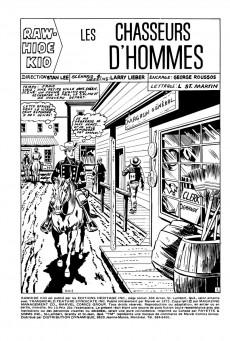 Extrait de Rawhide Kid (Éditions Héritage) -10- Les chasseurs d'hommes